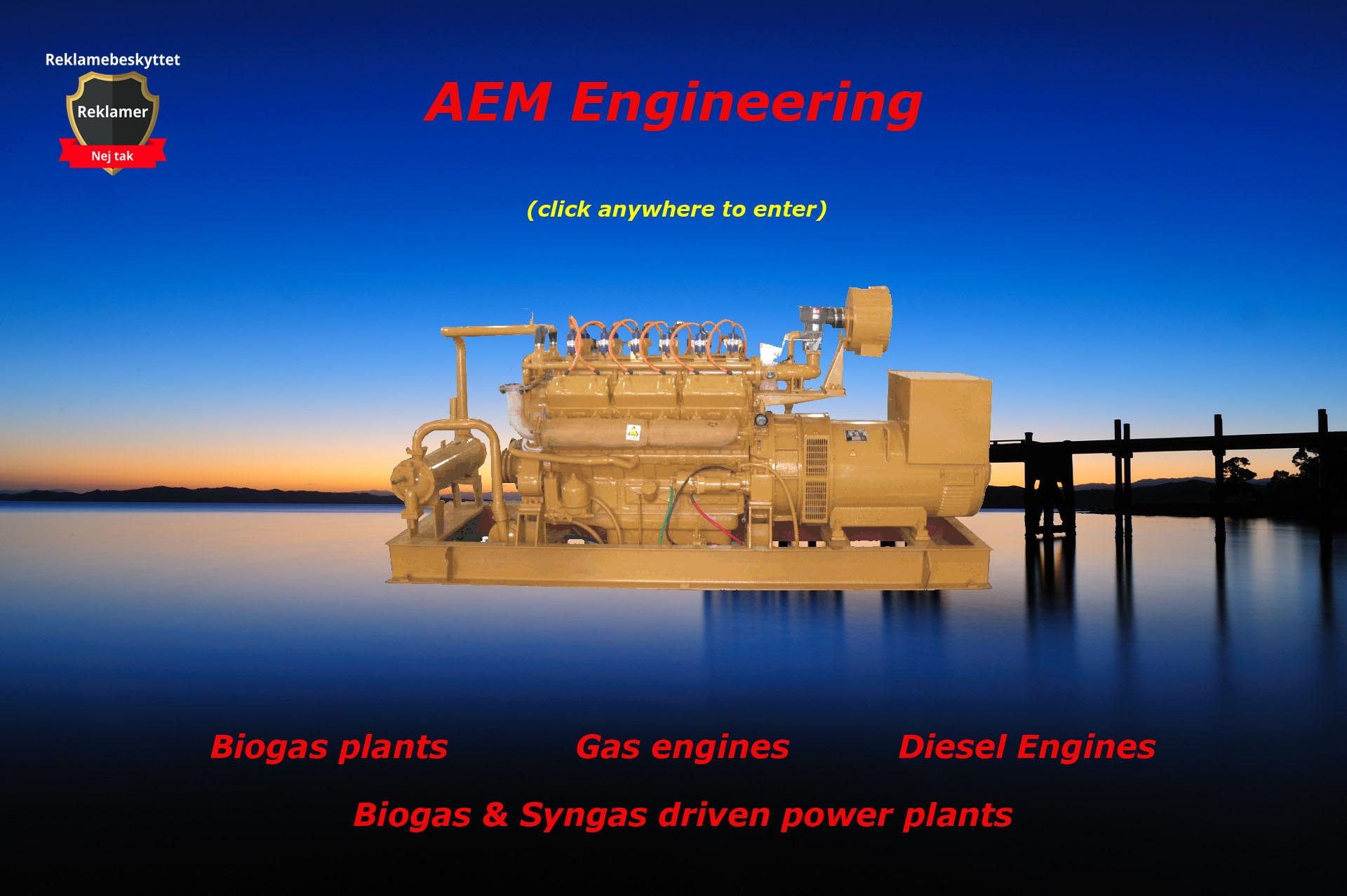 Biogas and gas engines
